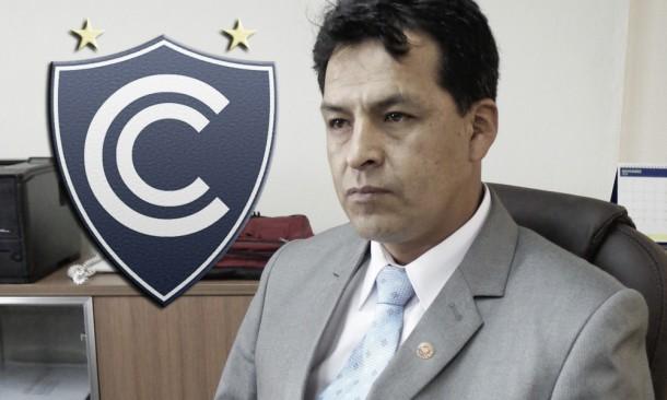 """Edwin Licona: """"Hay un 95% de posibilidad de que Cienciano se quede en primera"""""""
