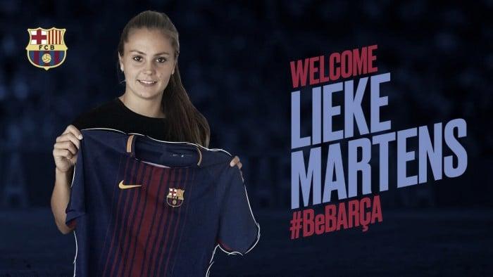 Barcelona anuncia contratação de atacante holandesa Lieke Martens, parceira de Marta noRosengärd
