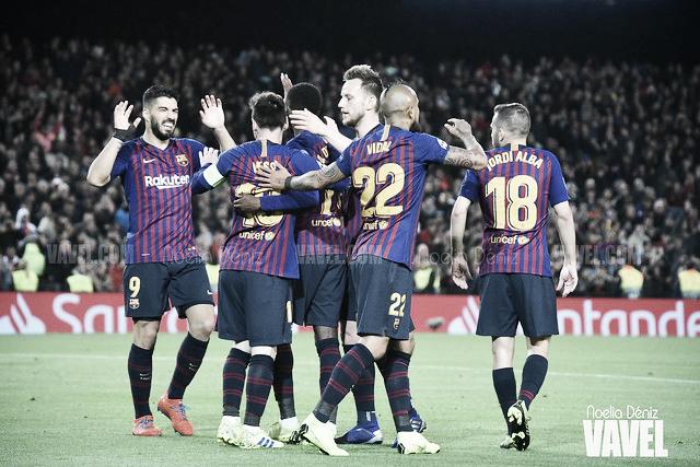Un Barça que lucha hasta el final