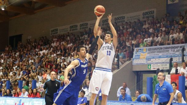 EuroBasket Under 20: l'Italia accede al secondo turno