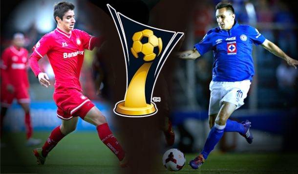 Resultado Toluca - Cruz Azul en Final Concachampions 2014 (1-1)