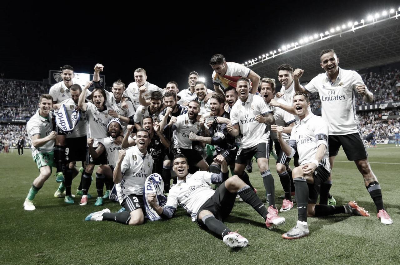 Hoy, hace tres años, el Real Madrid ganaba su 33ª liga