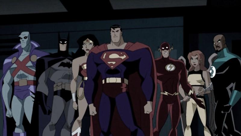 Un clásico animado: Liga de la justicia