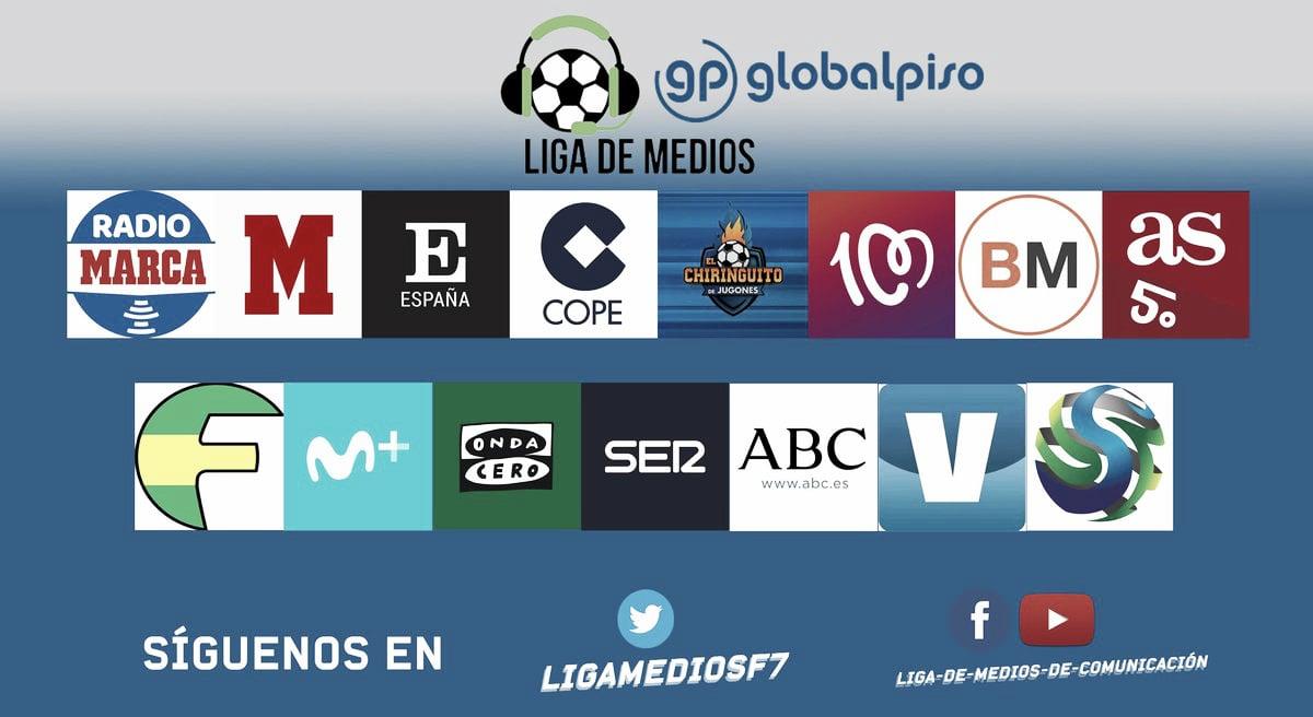 Liga de Medios Globalpiso: presentación del torneo