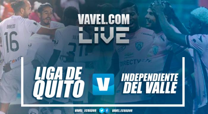 Liga de Quitoderrotó a Independiente y se lleva 3 puntos de oro(3-1)