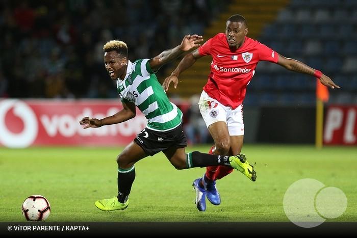 Sporting recebe Santa Clara