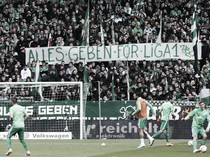 Werder Bremen 1-0 Eintracht Frankfurt: Djilobodji strikes at the death to maintain Bremen's Bundesliga status