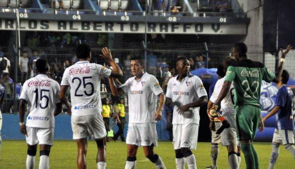 Liga de Quito se impone en el Capwell ante Emelec