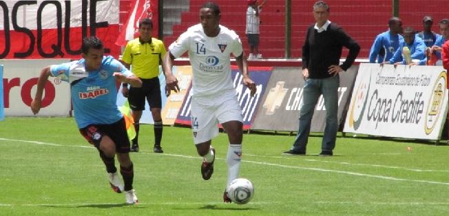 Liga de Quito con dos cambios para jugar ante el Cuenca