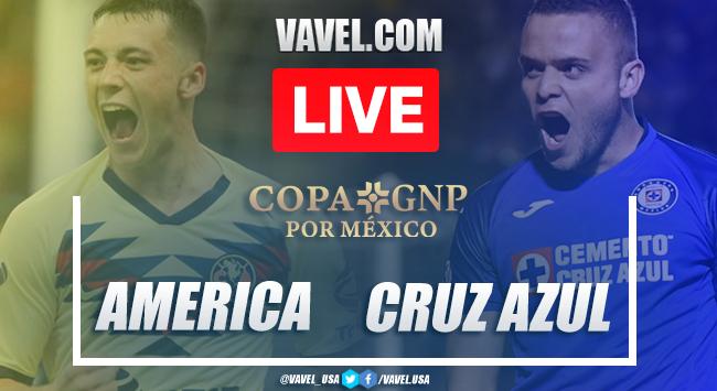 Goals and Highlights: América 1-4 Cruz Azul in 2020 Copa GNP Friendly