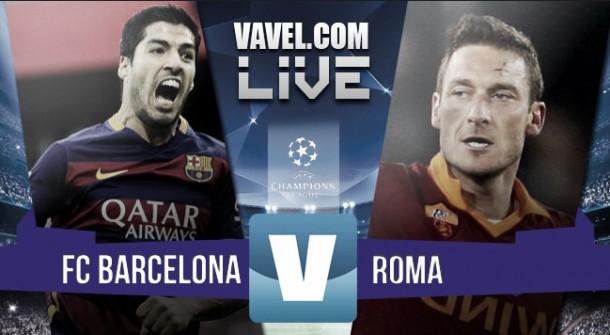 Resultado Barcelona - Roma en Champions League 2015 (6-1): monólogo culé en el Camp Nou