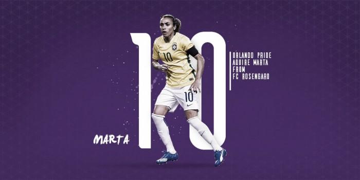 Após destaque na Suécia, Marta acerta com Orlando Pride