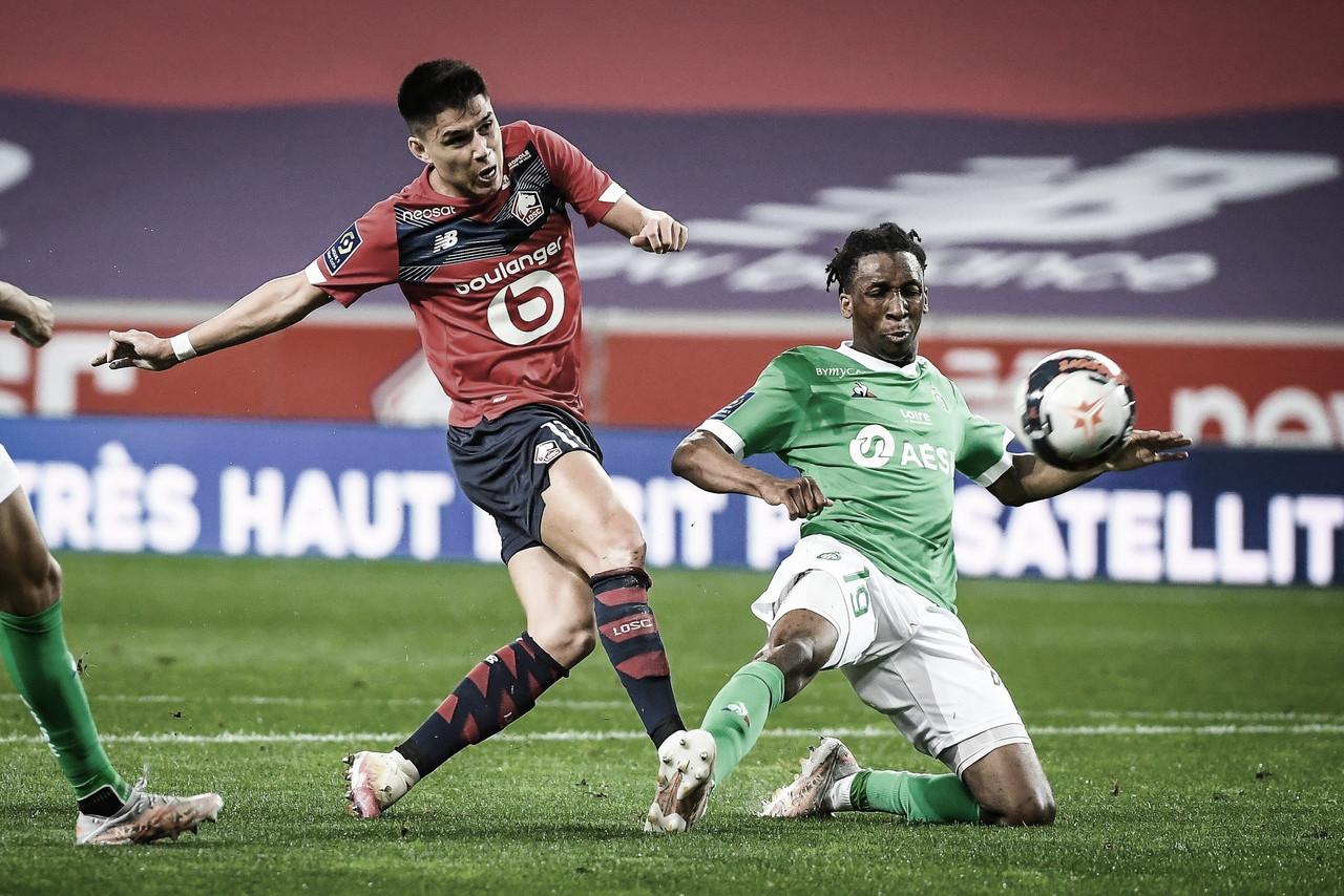 Lille empata com Saint-Étienne e título da Ligue 1 será definido na última rodada