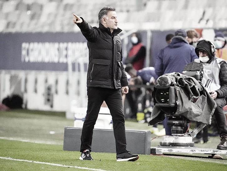 """Técnico valoriza """"estado de espírito"""" do líder Lille após quinta vitória seguida na Ligue 1"""