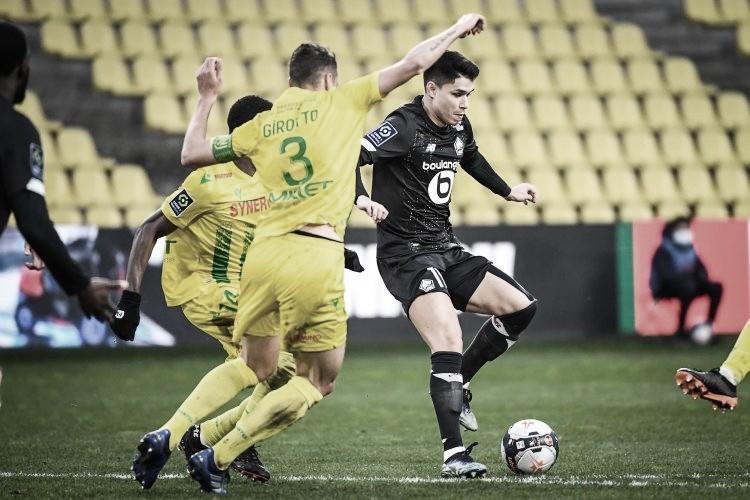 Com dois gols, Jonathan David garante vitória do Lille sobre Nantes