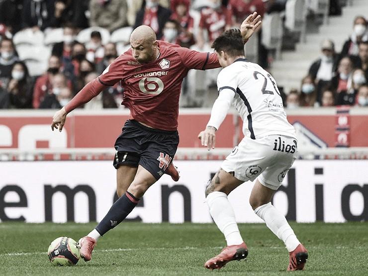 Ataque funciona, Lille supera Montpellier e conquista primeira vitória na Ligue 1