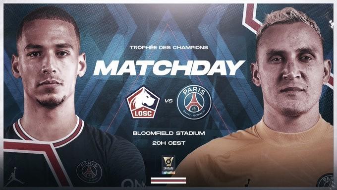 Gol e Melhores Momentos de Lille x PSG pela Supercopa da França (1-0)