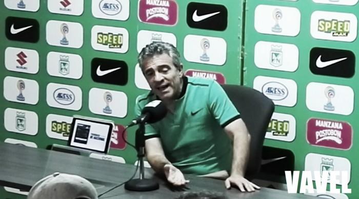 """Juan Manuel Lillo: """"Hoy no pudimos pintar un cuadro, lo que pudimos hacer es ganar"""""""