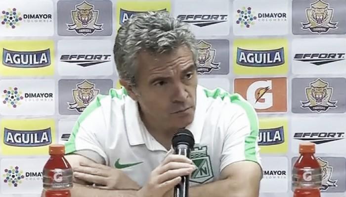 "Juan Manuel Lillo: ""Tuvimos minutos con muchas inseguridades"""