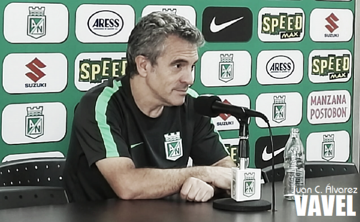 """Juan Manuel Lillo: """"El equipo pretende mantenerse lo más cerca de la portería contraria"""""""