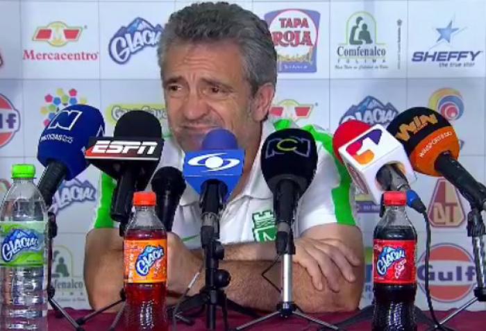 """Juan Manuel Lillo: """"Ya estoy orientado en el siguiente partido"""""""