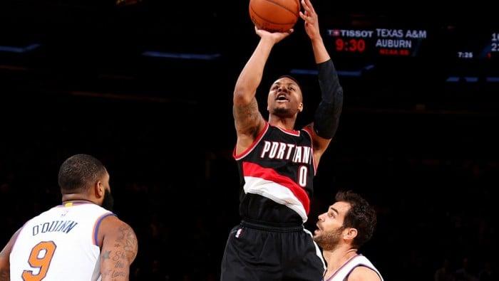 NBA - Lillard incanta anche al Madison: Portland non si ferma. Vittorie per Charlotte e Dallas
