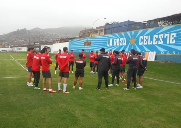 El Atlético ya trabaja en Lima