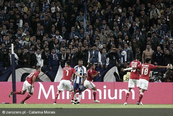 Porto 0-2 Benfica: Lima gela o Inferno do Dragão