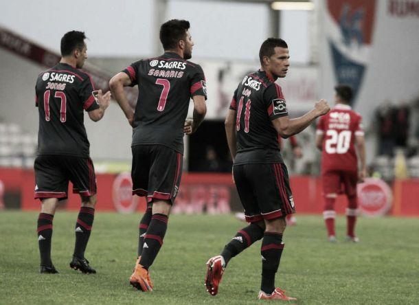 Dupla goleadora Lima/Jonas marcou mais golos que 8 equipas da Liga NOS