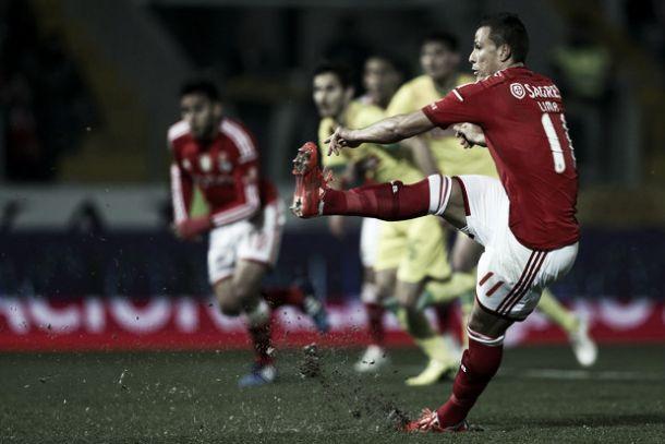 Bravo Benfica ficou em branco na Liga 81 jogos depois