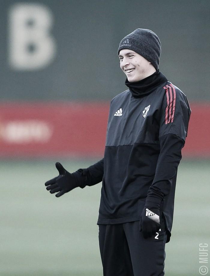 """Lindelöf: """"El United es uno de los más grandes del mundo"""""""