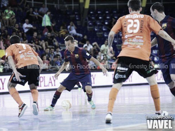 Burela FS - FC Barcelona: con ganas de mejorar