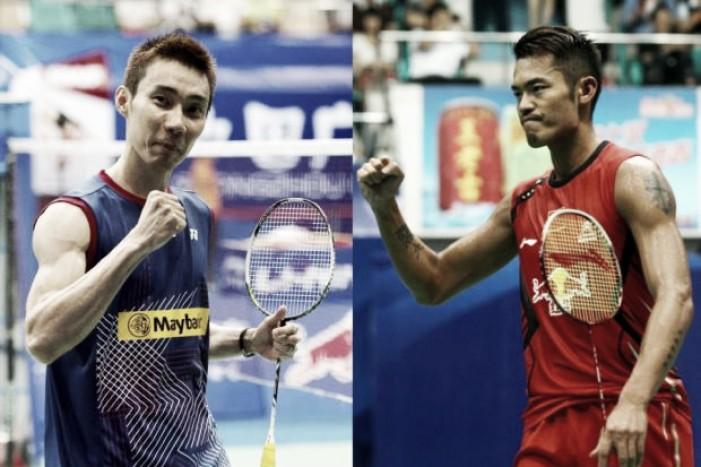 Semifinal do simples masculino no Badminton será reedição da final de Londres 2012