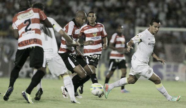 Leandro Damião estreia sem gol, mas Santos vence Linense