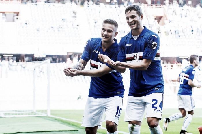 Sampdoria, rimonta di cuore e la classifica sorride