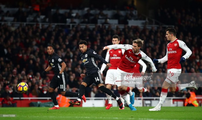 Arsenal 1-3 Manchester United: Clinical Red Devils win in frantic Premier League encounter