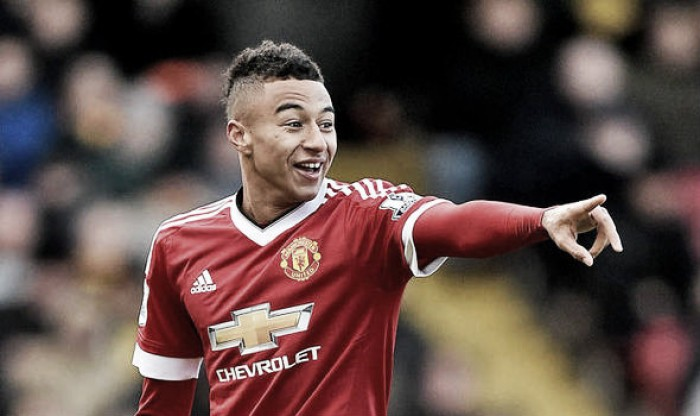 Jesse Lingard prefers playing the central role