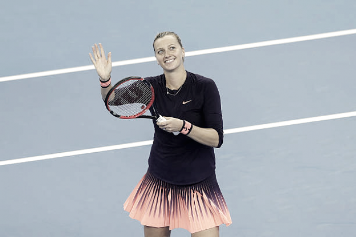Petra Kvitova's recovery going better than expected, could return for French Open