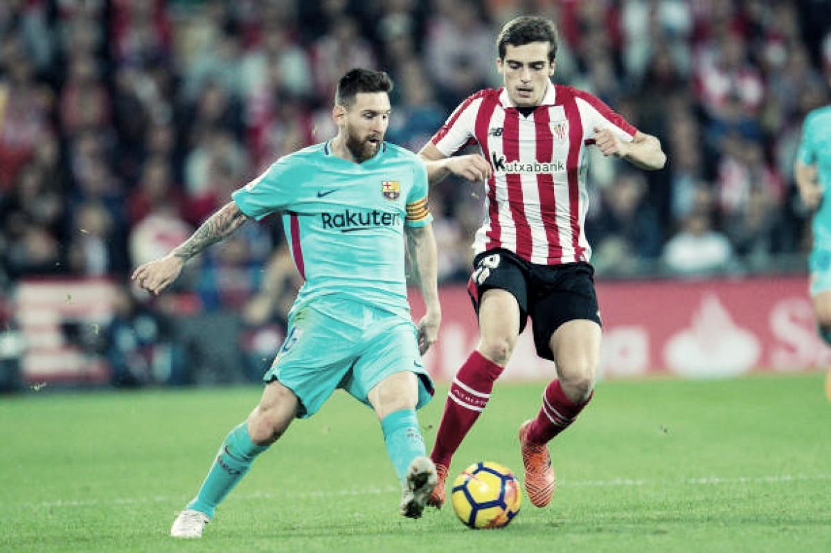 Com um gol de Messi, Barcelona vence mais uma