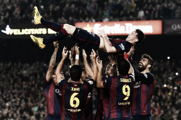 Lionel Messi becomes La Liga's all-time top goalscorer