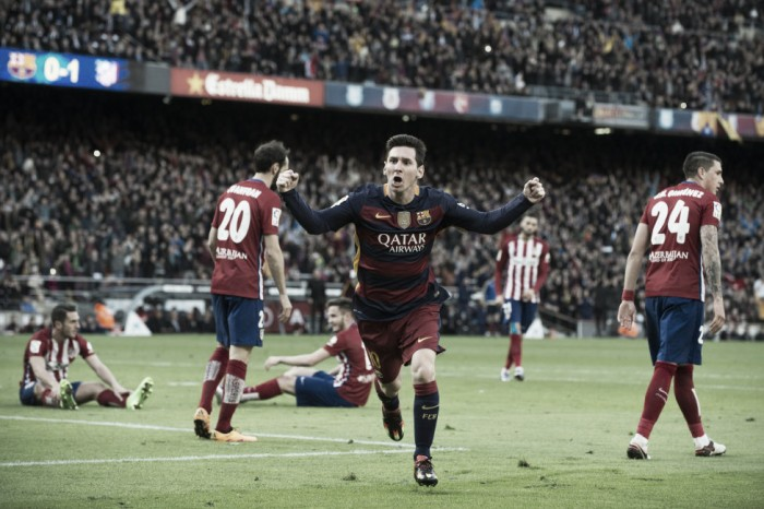 Messi le puso un freno a la ilusión 'rojiblanca'