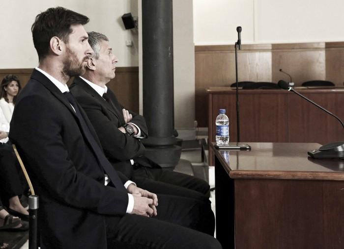 Lionel Messi é condenado a 21 meses de prisão pela justiça espanhola por fraude fiscal