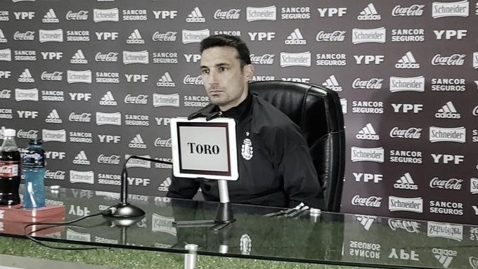 """Scaloni: """"Nos vamos con un sabor agridulce porque Argentina hizo todo para ganar"""""""