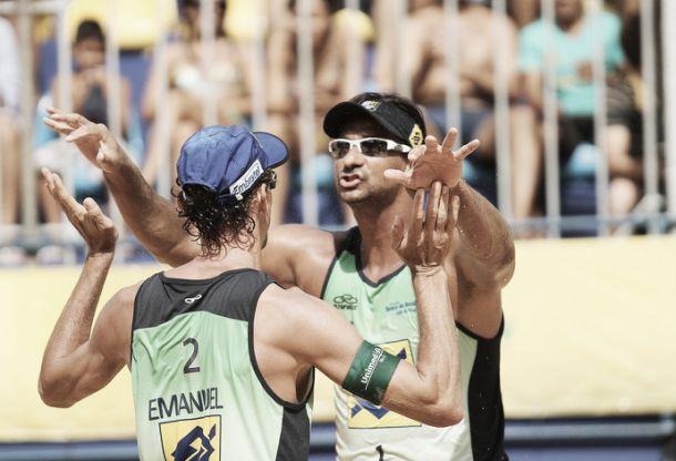 """Visando a Olimpíada, Emanuel mantém cautela em seu retorno com Ricardo: """"É importante ter cabeça no lugar"""""""
