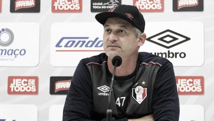 """Lisca aponta erros no empate contra Náutico: """"Fomos muito incompetentes na definição"""""""