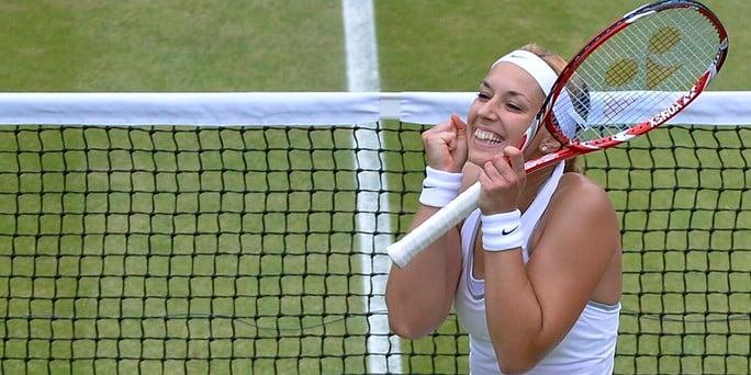 Sabine Lisicki steht im Wimbledon-Finale