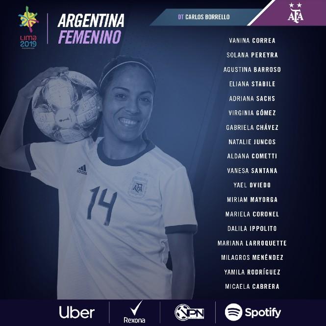 Selección Argentina femenina: lista y declaraciones