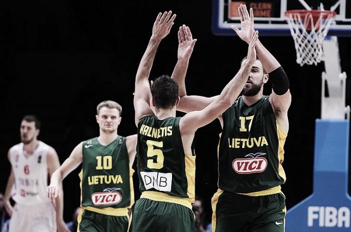 Rio 2016, Basket: la Lituania