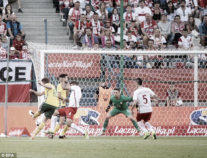 Poland 0-0 Lithuania: Poles fire blanks against minnows