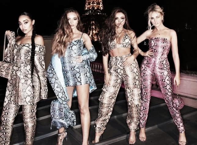 Little Mix' huge success in the UK